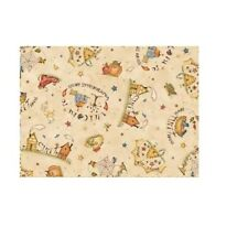 Country Fabric - Sew Nice To Be Home House Toss Beige - Red Rooster Yard