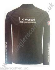 Mustad días PERFECT Camisa/ Negro/ Azul/ Ropa / Pesca / Leeda