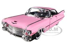 1959 CADILLAC COUPE DEVILLE PINK 1/24 DIECAST CAR MODEL BY JADA 96801