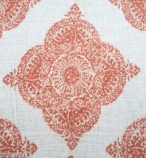 JOHN ROBSHAW DURALEE LINEN PRINT MULTIPURPOSE FABRIC MANI/TERRACOTTA BY THE YARD