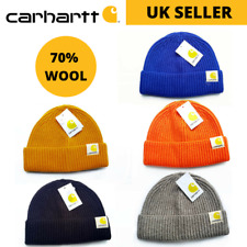 Carhartt Original Wool Ribbed Beanie Hat PREMIUM QUALITY FREE & FAST UK DELIVERY