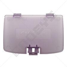 Atomic purple (transparent) nintendo game boy color neuf batterie de remplacement porte couverture
