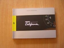 Betriebsanleitung Notice d´Entretien Ferrari California (F 136 IB)