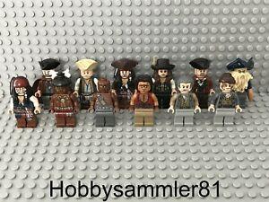 Lego Pirates of the Caribbean Figuren Figur - Auswahl - 4183 4184 4193 4194 4195