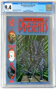 CGC 9.4 White pages  Dark Horse Presents #34   Aliens & Zone Appearance
