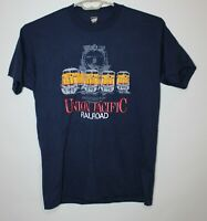 Vintage Screen Stars Mens XL Union Pacific Railroad Single Stitch Train T Shirt