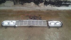 1964 Chevrolet Chevelle OEM Used Front Grille with Wiring and Lights G0024