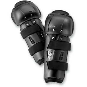 Thor Sector Motocross Offroad Knee Guard Black