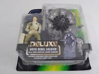 Kenner Star Wars Deluxe Hoth Rebel Soldier Action Figure new