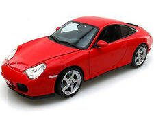 Maisto Porsche 911 996 Carrera 4S 1:18 Diecast Model Car Red
