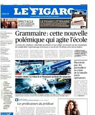 Le Figaro 19.01.2017 N°22533*Vendée GLOBE*FRONT NATIONAL-GAUCHE-FILLON*ATTENTATS