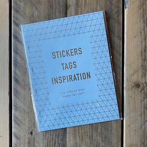 Kikki k stickers and inspiration sticker and label book
