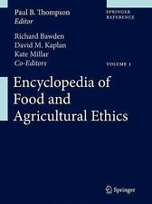 Encyclopedia of Food and Agricultural Ethics (2014, Hardcover)