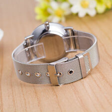 WOMENS SILVER MESH STRAP QUARTZ FASHION DRESS WATCH Ladies Gold Analog Casual 44