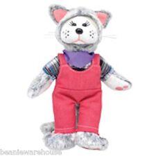 BEANIE KIDS MEOW MEOW THE FARM CAT BEAR BK2-019 NEW