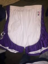 Authentic Adidas Sacramento Kings NBA Basketball Shorts & Zephyr Hockey Jersey