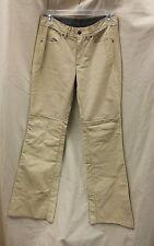 Diesel  Leather Trousers Pants 27 Waist Used as is Tan ladies men's ????