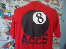 Vintage 8th ACCS Military Fighter Jet Plane T Shirt Sz XL