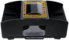 AUTOMATIC BATTERY OPERATED POKER CASINO ONE/TWO DECK CARD SHUFFLER NEW SORTER