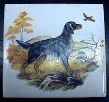 Ceramic Tile Gordon Setter Dog
