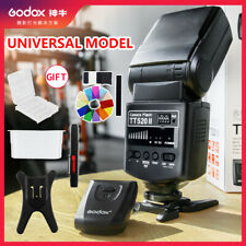 Godox Flash TT520II with Build-in Receiver+ Transmitter Kit for Canon Nikon DSLR