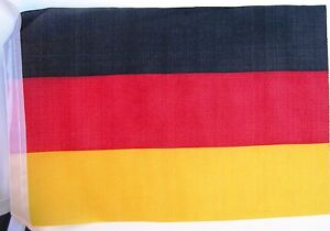 Super Flag of German Germany Deutsch Fabric Bunting 11m 40 Flags 1st Class Post