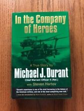 In the Company of Heroes by Michael Durant Signed Copy Black Hawk Down HCDJ