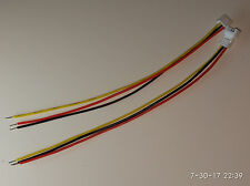 1 pair Molex PICOBLADE 1.25mm 3 pin 3p Male Female Wire Tinned JST GH