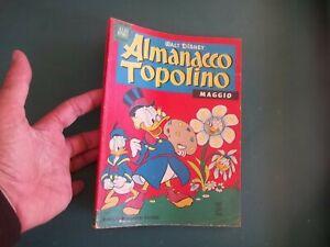 ALMANACCO TOPOLINO 1963 NUM 5 BUONO + FIGURINE