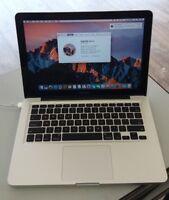 """Apple MacBook Pro 13.3"""" Intel Core i7 Turbo Boost 4GB DDR3 500GB HDD MC724LL/A"""