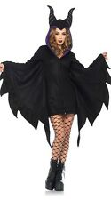 Ladies Womens Sexy Vampire Bat lady Halloween Costume Fancy Party Dress ladcos34