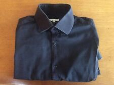 """Lovely Navy Blue Mens Casual Shirt From REISS Size M Long Sleeve Chest 42"""""""