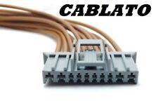Connettore Grigio 10 pin Cablato Body Computer Anabbaglianti Fiat Panda 71745167