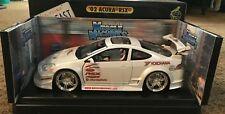 2002 Acura RSX WHITE 1:18 scale die cast Funline Muscle Machines SSTuner