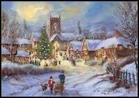 Chart Needlework - Counted Cross Stitch Patterns - Christmas in the Village