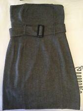 Ladies DECJUBA Herringbone Strapless Dress Size 14 (12)