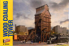 NIB N Walthers #933-3823 Wood Coaling Tower Kit