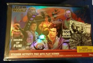 Star Wars Sticker Activity Pad with Play Scenes - Over 800 Stickers &10 pages