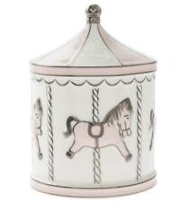 Baby Money Box Pink Christening Bank Carousel  New Baby