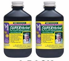 2-PACK Superthrive 4oz B Vitamins Plant Food Hormones Super Thrive Hydroponic