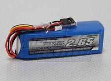 Batería Lipo 2650mA 3S - 1C especial emisoras, conector Futaba TX Pack