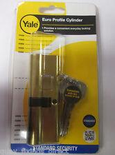 Yale Euro Profile Cylinder 90mm 40/50 Brass ED3545-PB PVC UPVC COMPOSITE DOOR