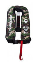 WATERSNAKE Inflatable PFD Life Jacket Adult Level 150 Manual Camo