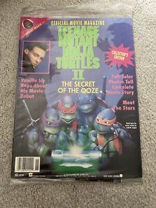 Teenage Mutant Ninja Turtles Official Movie Magazine Brand New Sealed