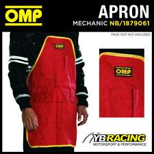 OMP Motorsport professionale auto meccanico Lavoro Strumento Grembiule Con Tasche