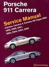 SHOP MANUAL 911 SERVICE REPAIR PORSCHE 996 BENTLEY BOOK CARRERA 4 4S