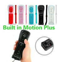 For Nintendo Wii / Wii U2 in 1 Built in Motion Plus Remote Controller + Case