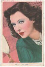 Image imprimée de l'actrice Hedy Lamarr—Metro Goldwyn Mayer—Espagne—Années 40