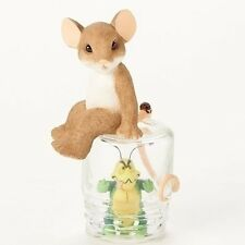 "Charming Tails 4.25""H Mouse Figure ""Sorry Caught Nasty Bug"" Get Well #19388 Nib"