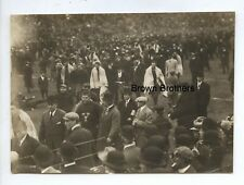 Vintage 1920s College Football Ivy League Yale Post Game Scene Photo